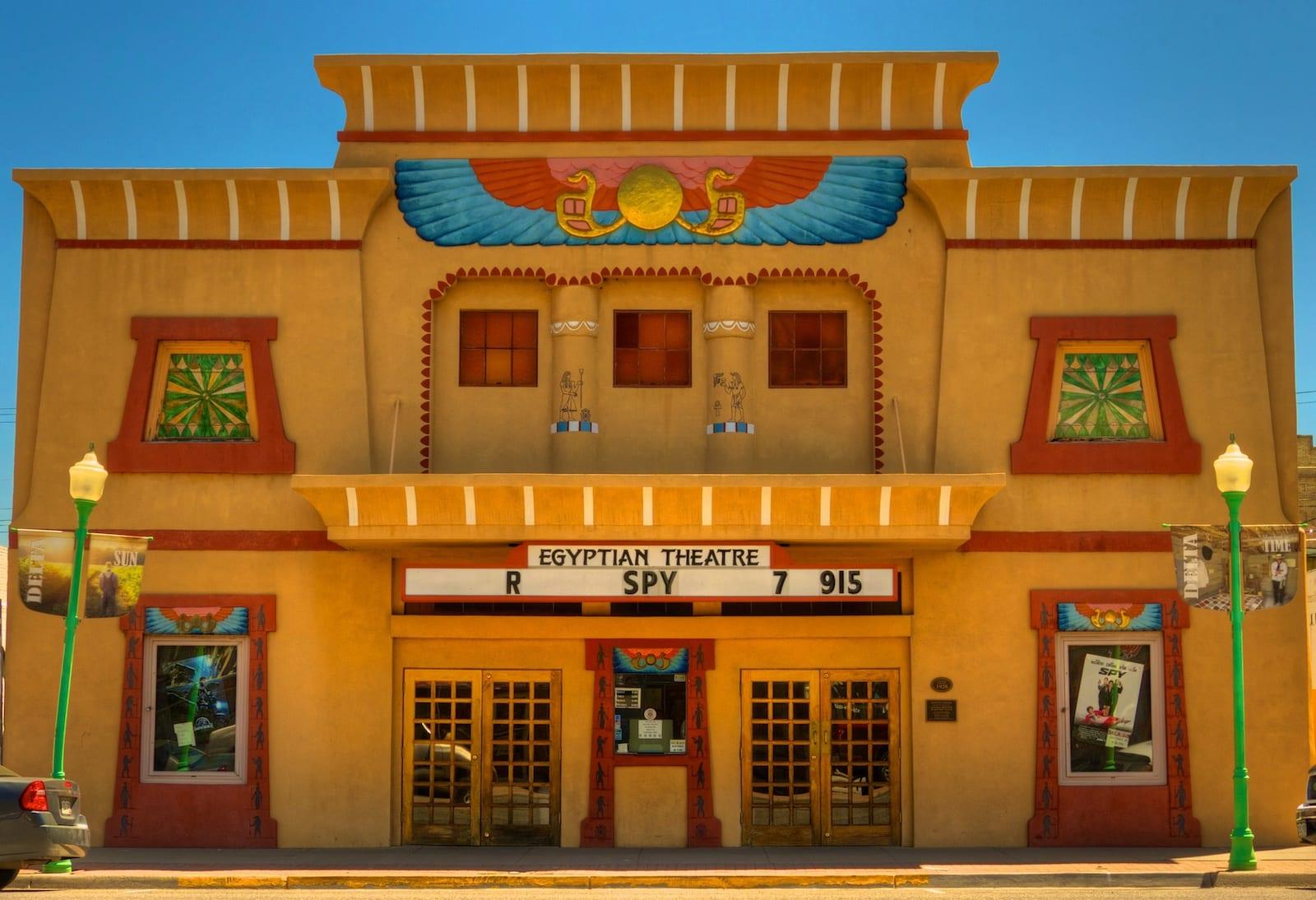 Egyptian Theatre in Delta, Colorado,