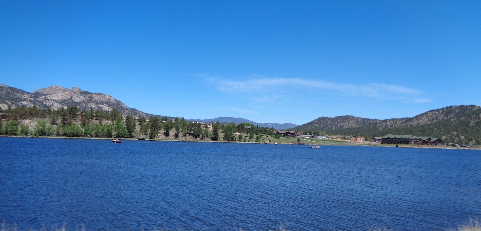 Lake Estes in Estes Park, Colorado