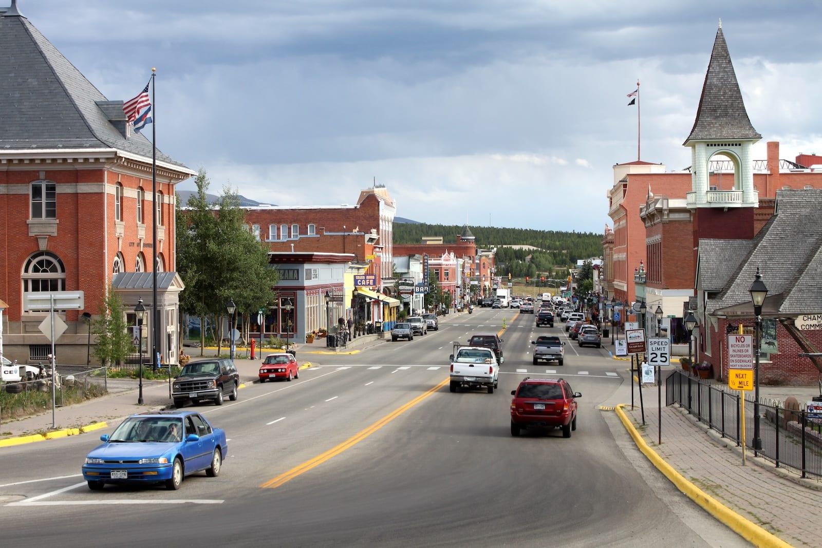 Downtown Leadville, Colorado