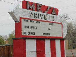 Mesa Drive-In theater in Pueblo, Colorado