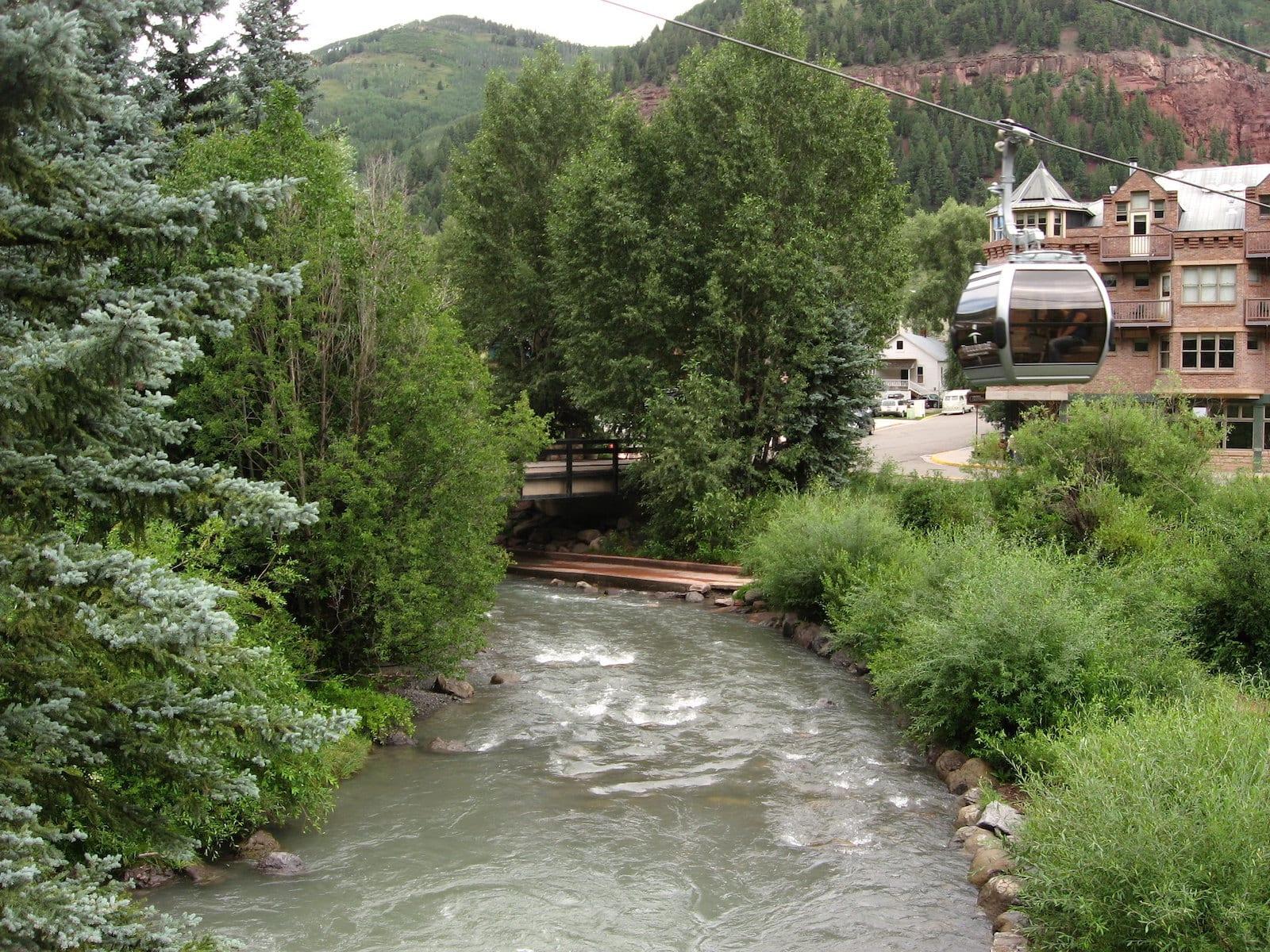 San Miguel River inTelluride, CO