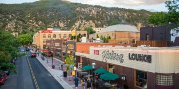 Seventh Street in Glenwood Springs, CO