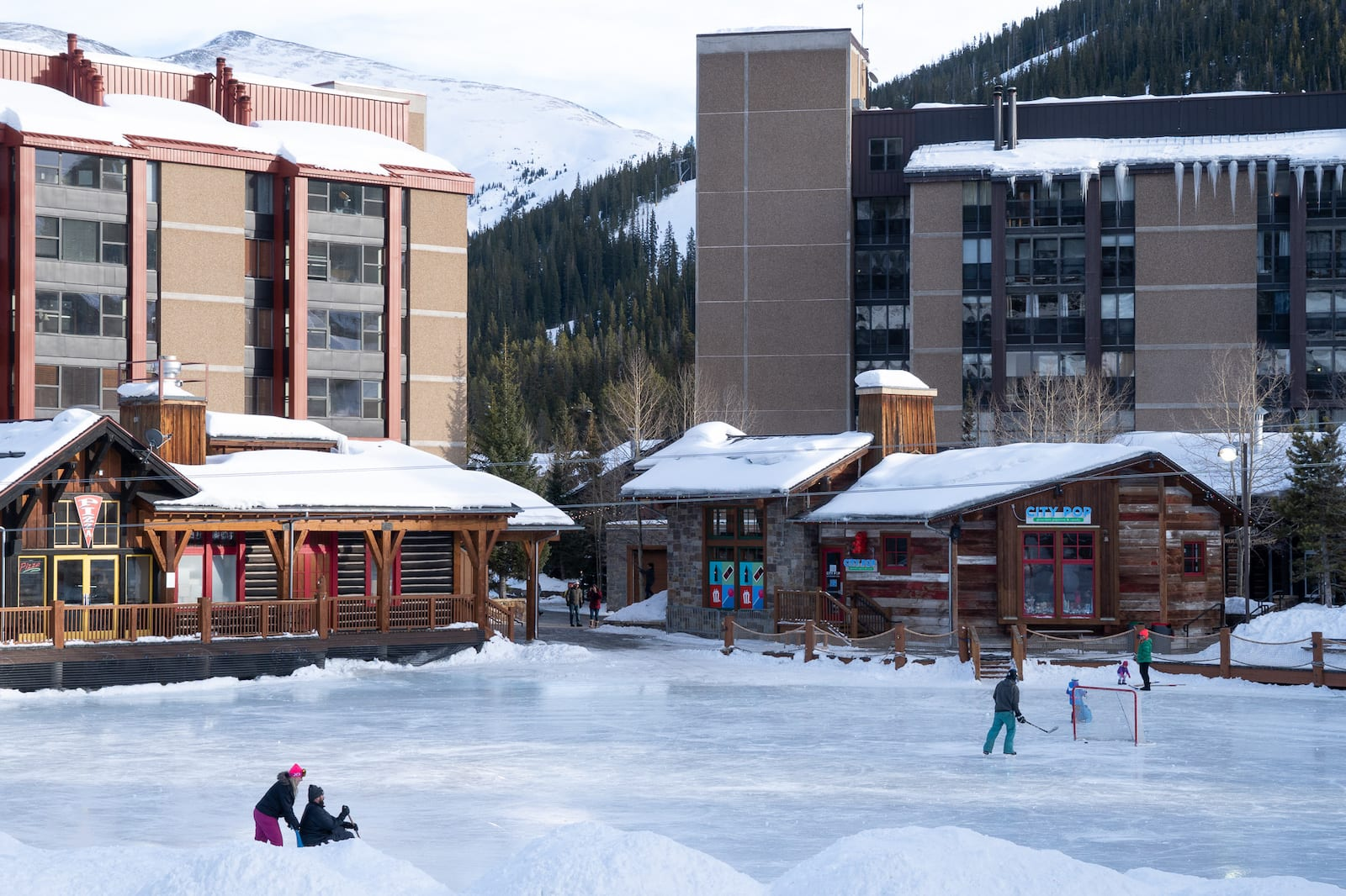 Skating at Copper Mountain Resort, CO