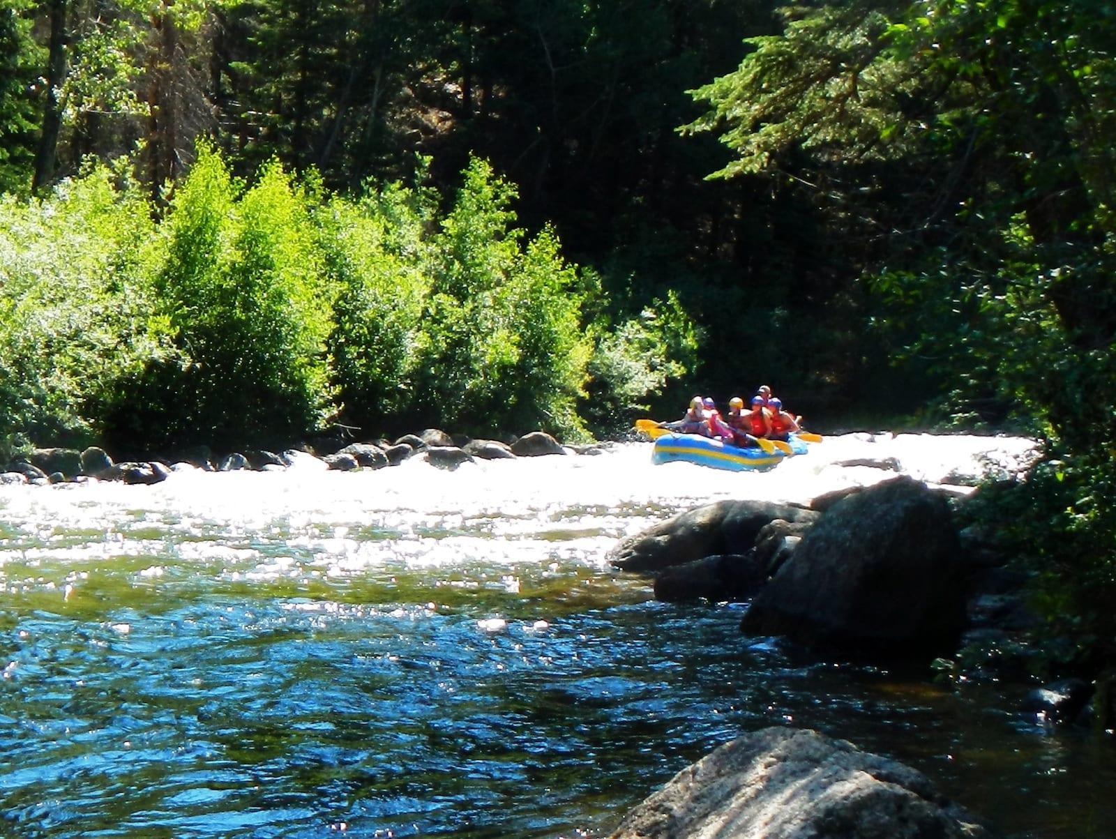 Taylor River Rafting, Colorado