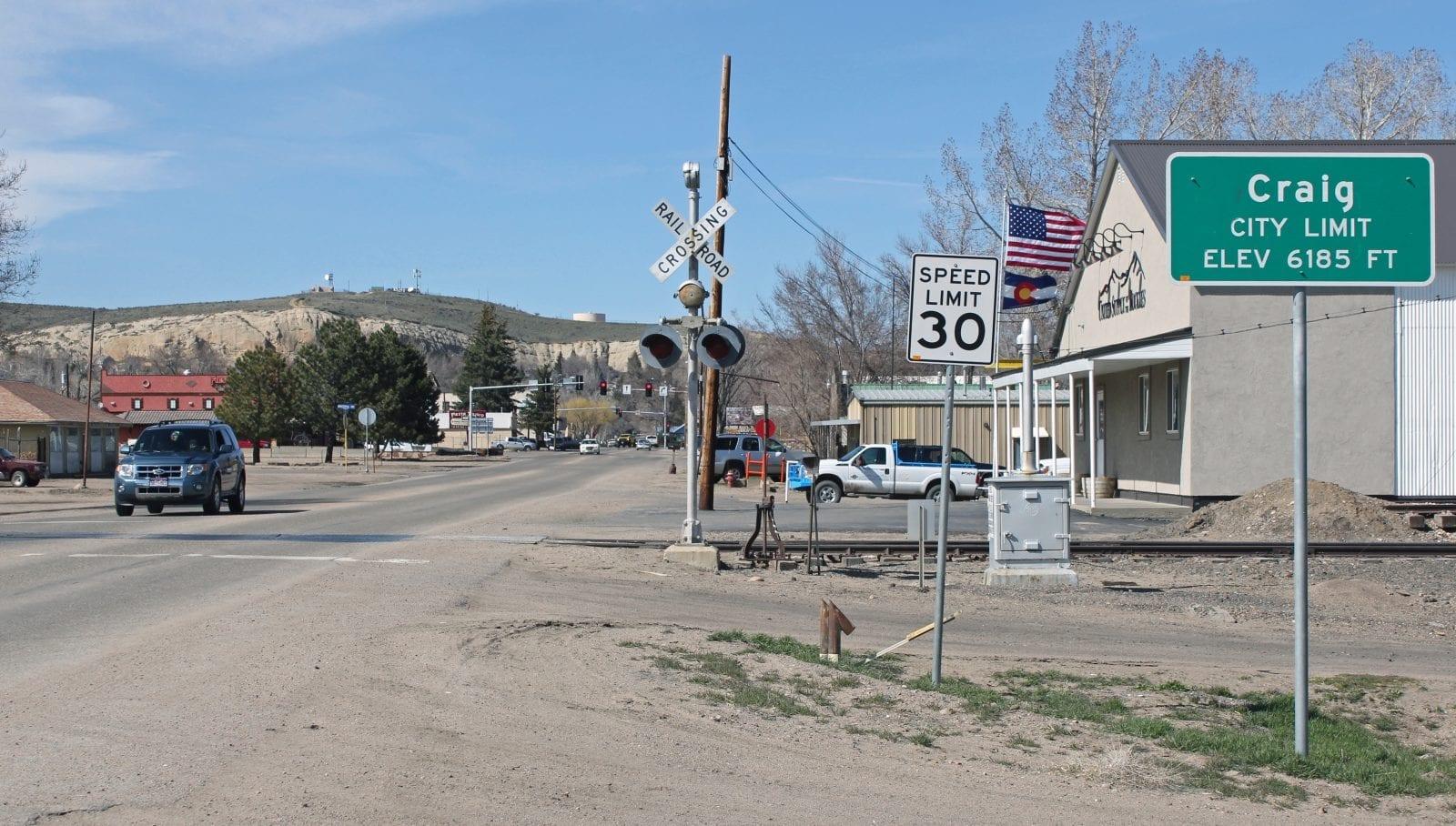 The town of Craig, Colorado