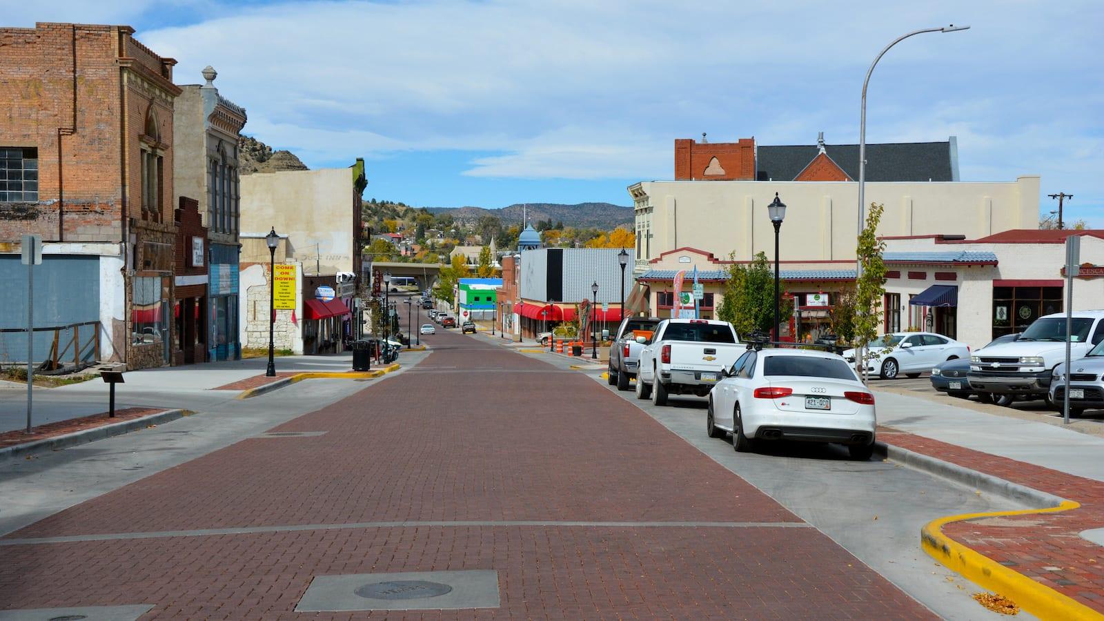 Trinidad downtown, Colorado