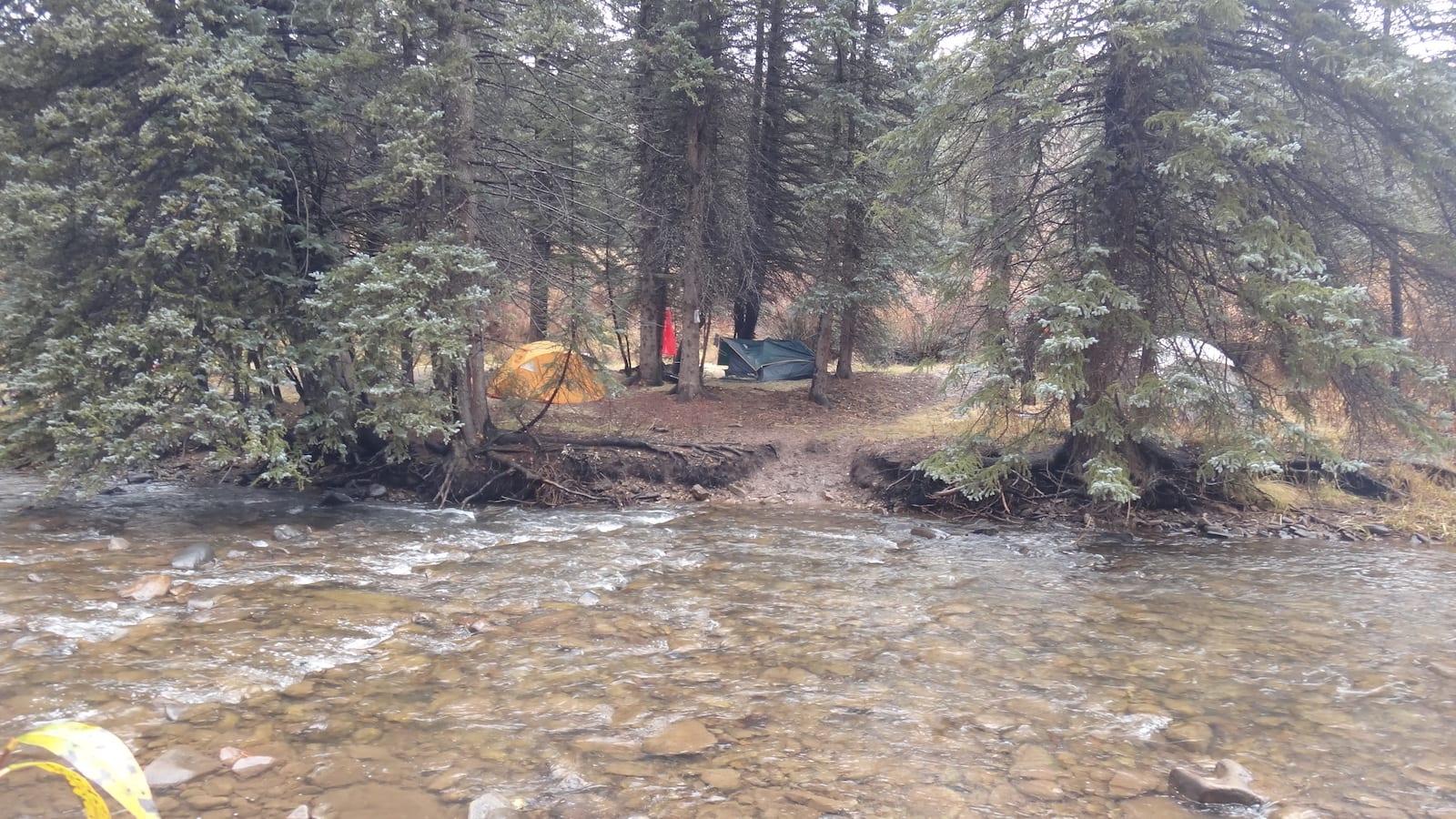 West Dolores River Camp, CO