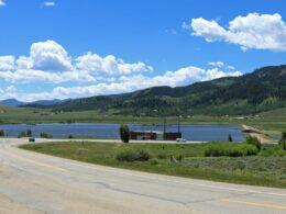 Windy Gap Reservoir and dam, CO