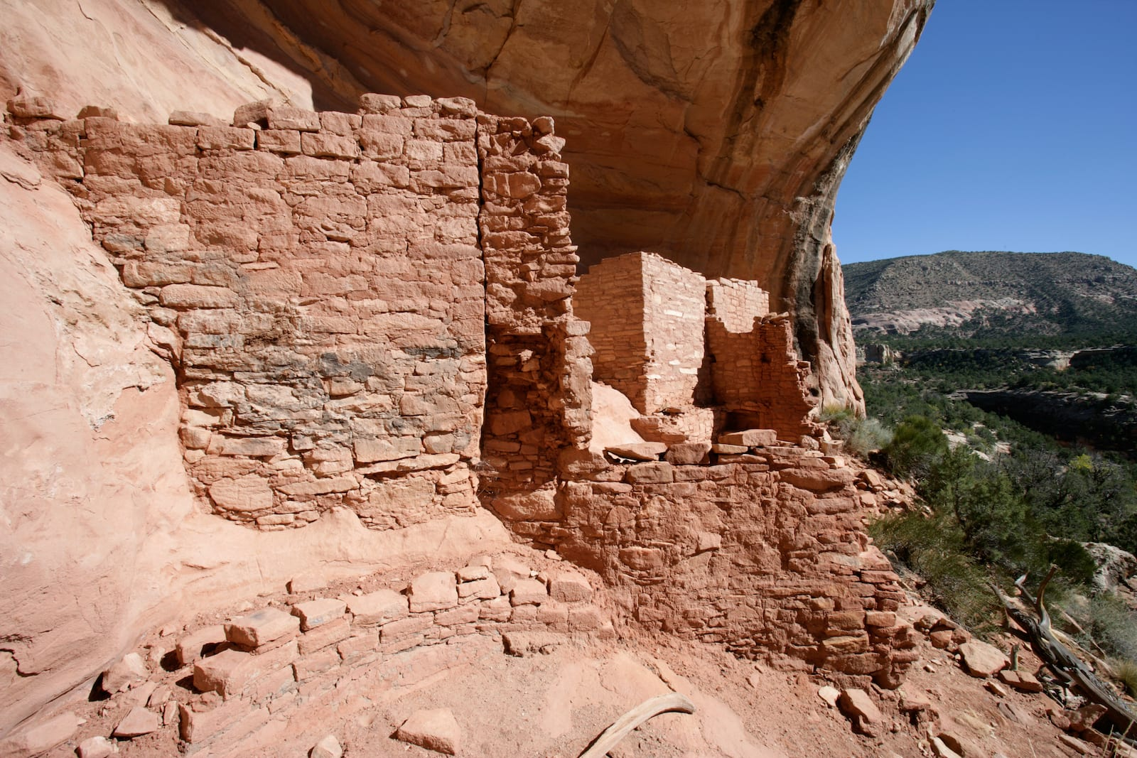 Ancient Puebloan Ruins at Canyons of the Ancients National Monument Colorado