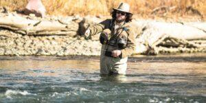 Fly Fishing at Arkansas River Pueblo Colorado