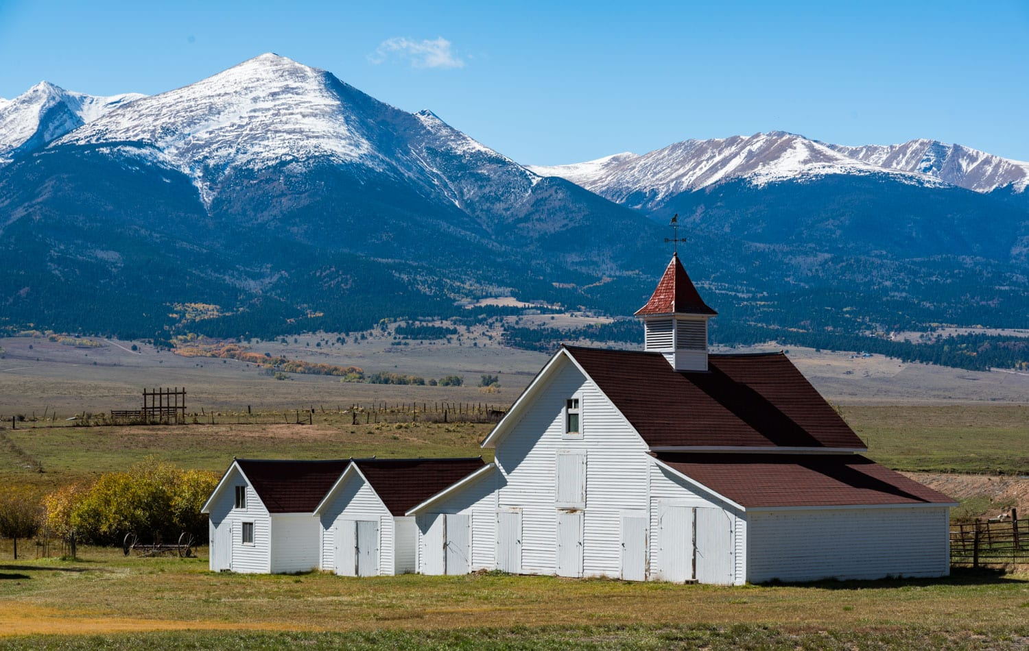 image of beckwith ranch westcliffe