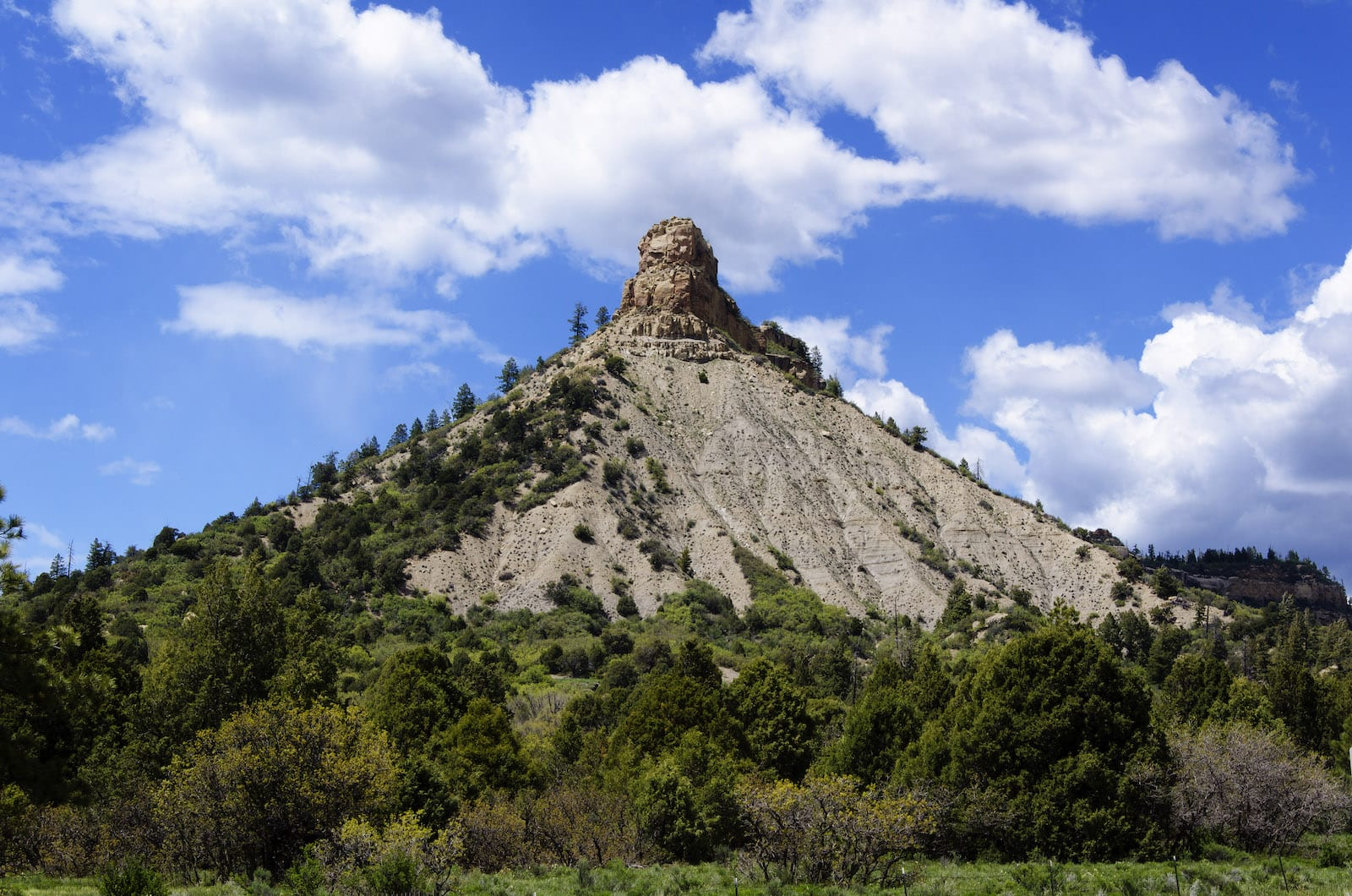 Chimney Rock Mountain Colorado