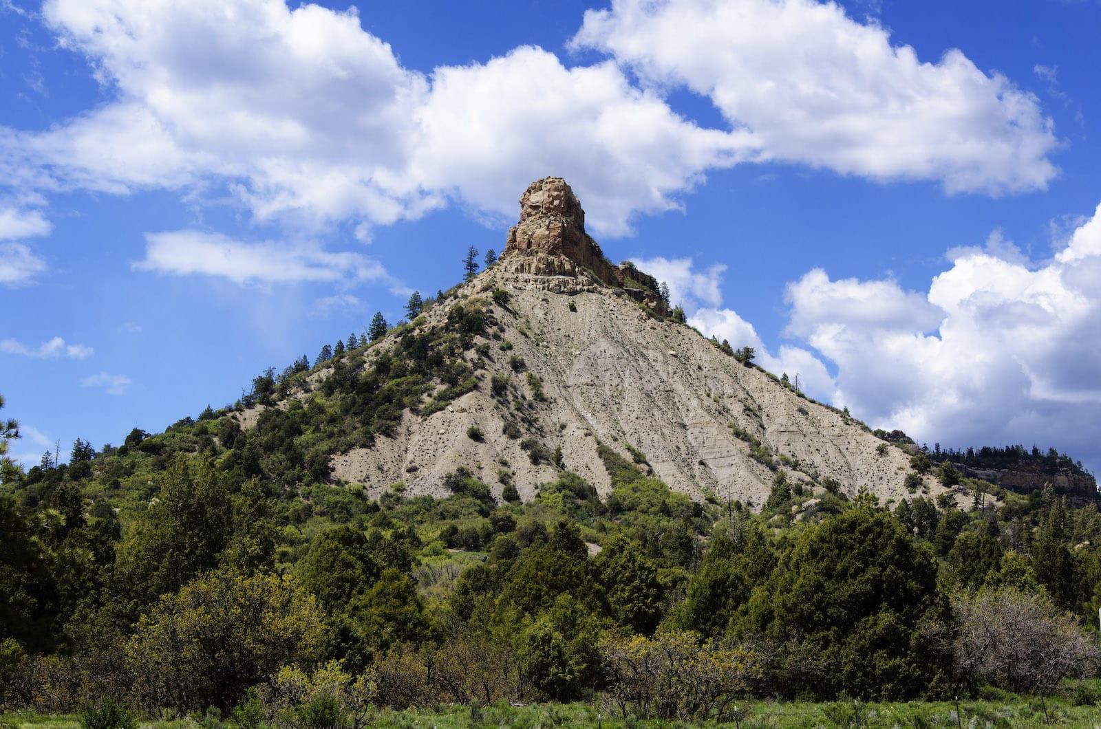 Chimney Rock Mountain Colorado