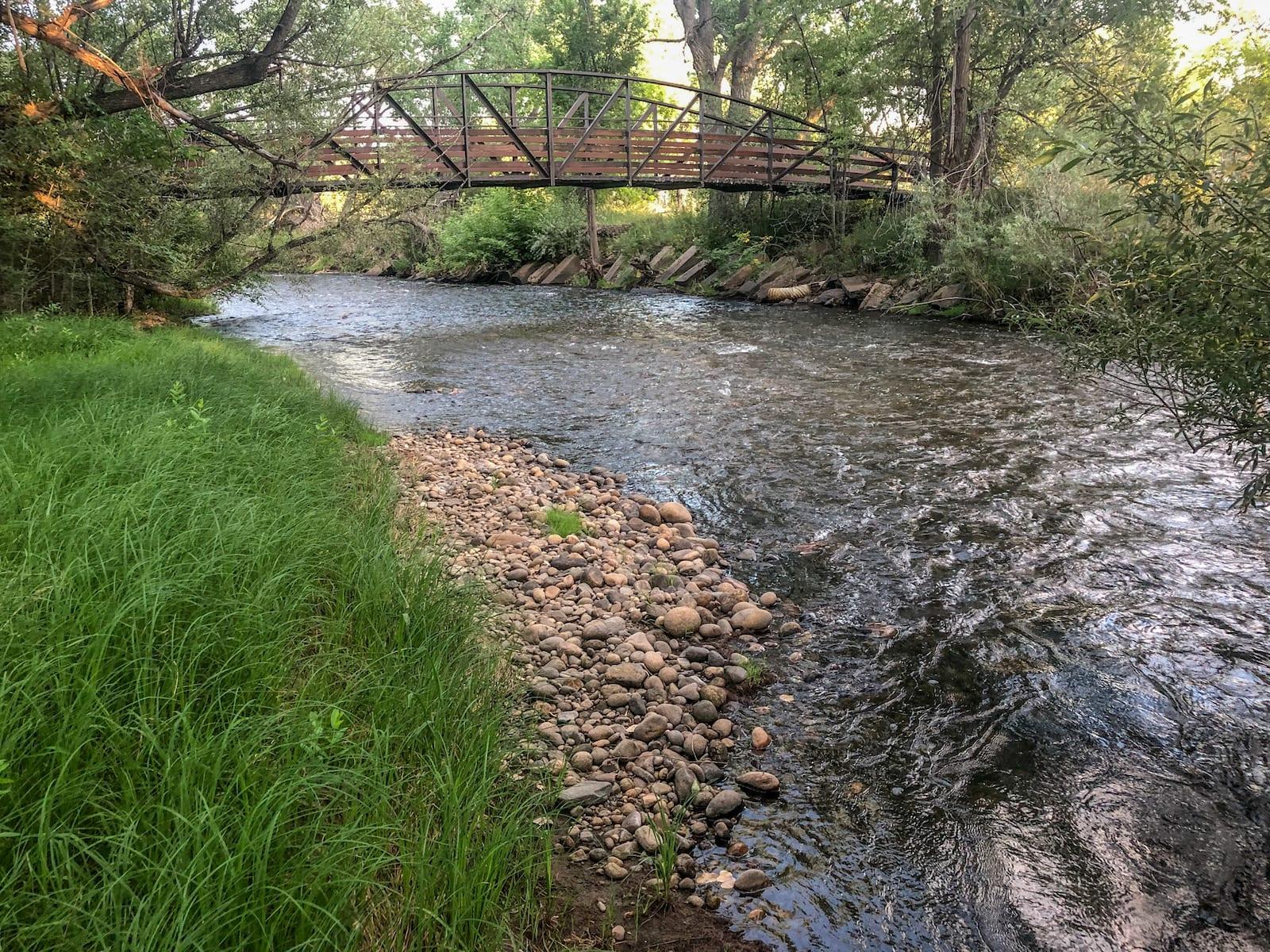 Clear Creek Wheat Ridge Colorado Bridge