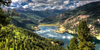 Lake City Colorado Lake San Cristobal Overlook