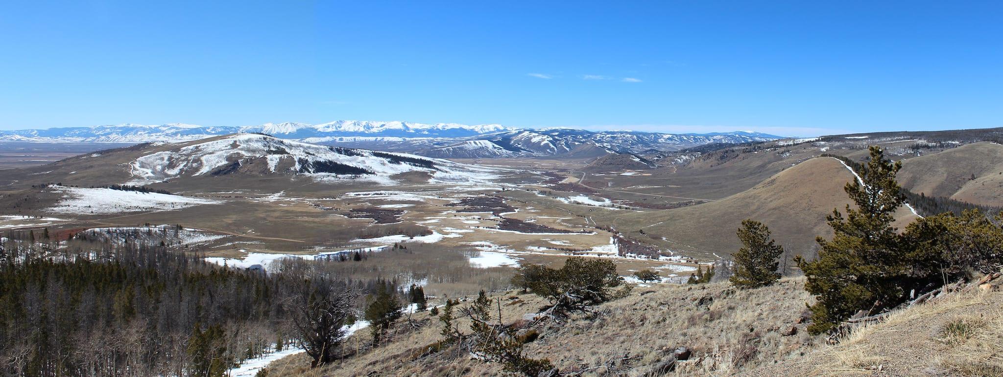 Cowdrey Colorado Aerial View