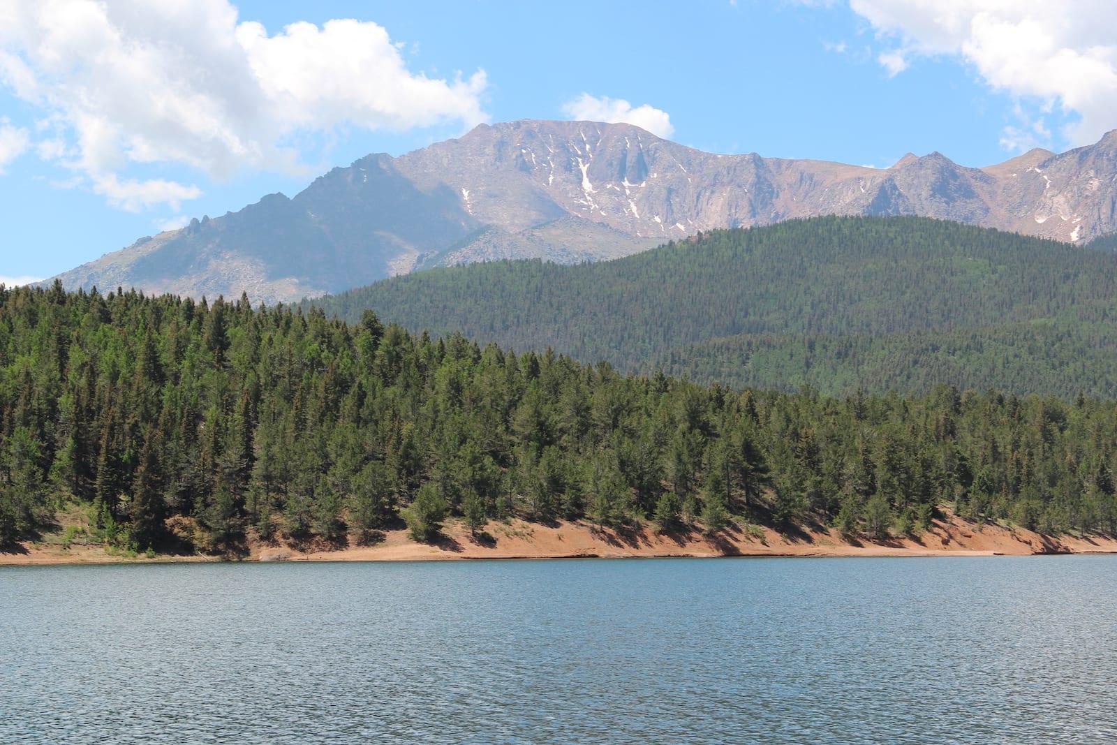 Crystal Creek Reservoir Pikes Peak Colorado