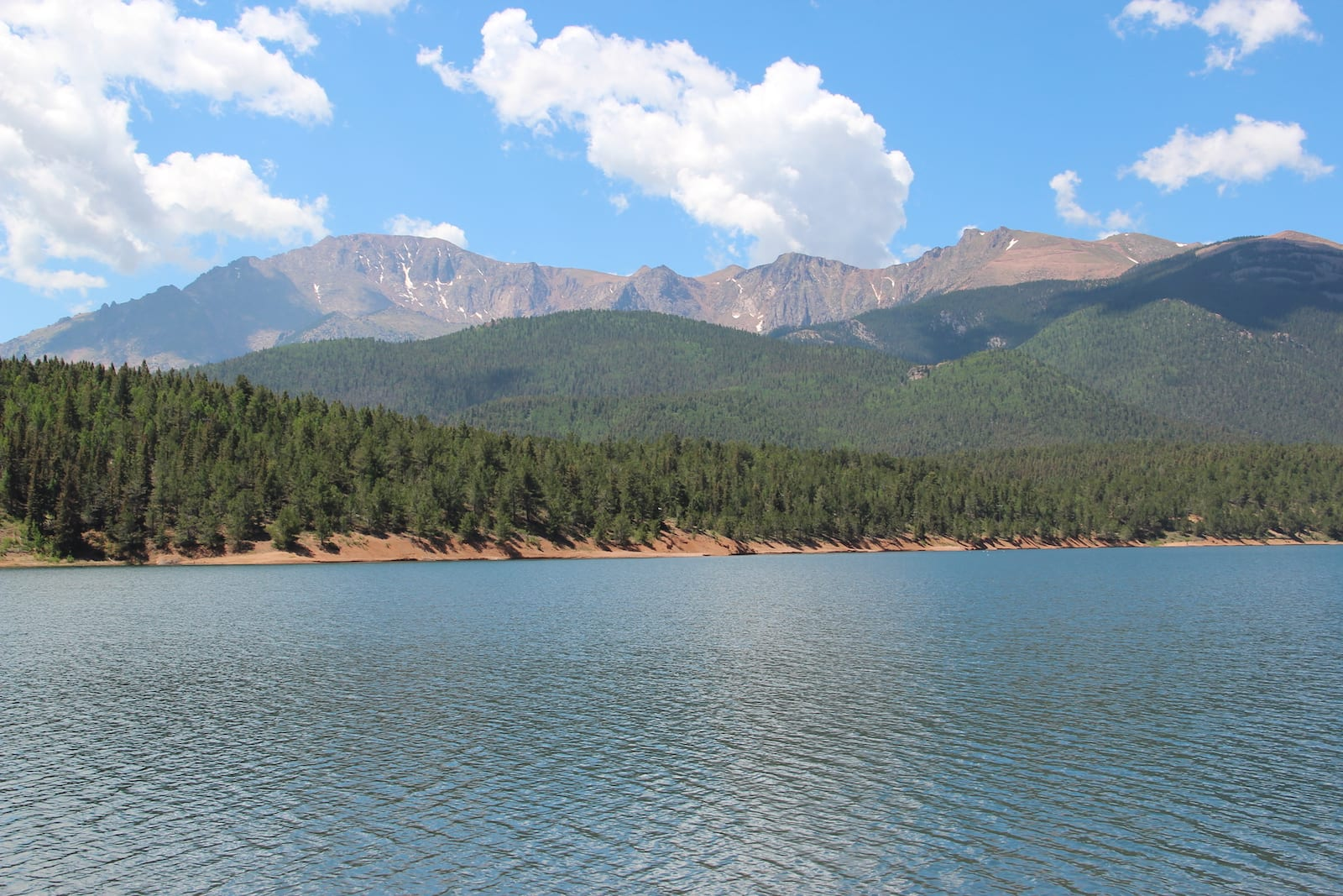 Crystal Creek Reservoir Pikes Peak Colorado