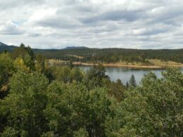 Crystal Creek Reservoir North Slope Recreation Area Pikes Peak