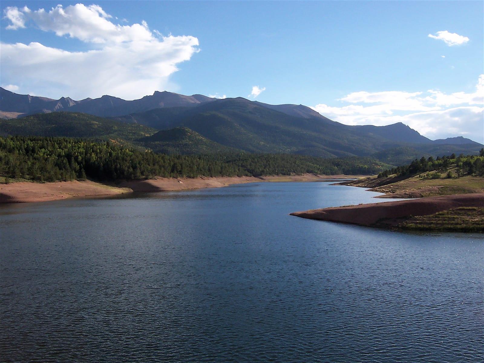 Crystal Creek Reservoir Pikes Peak Colorado Springs