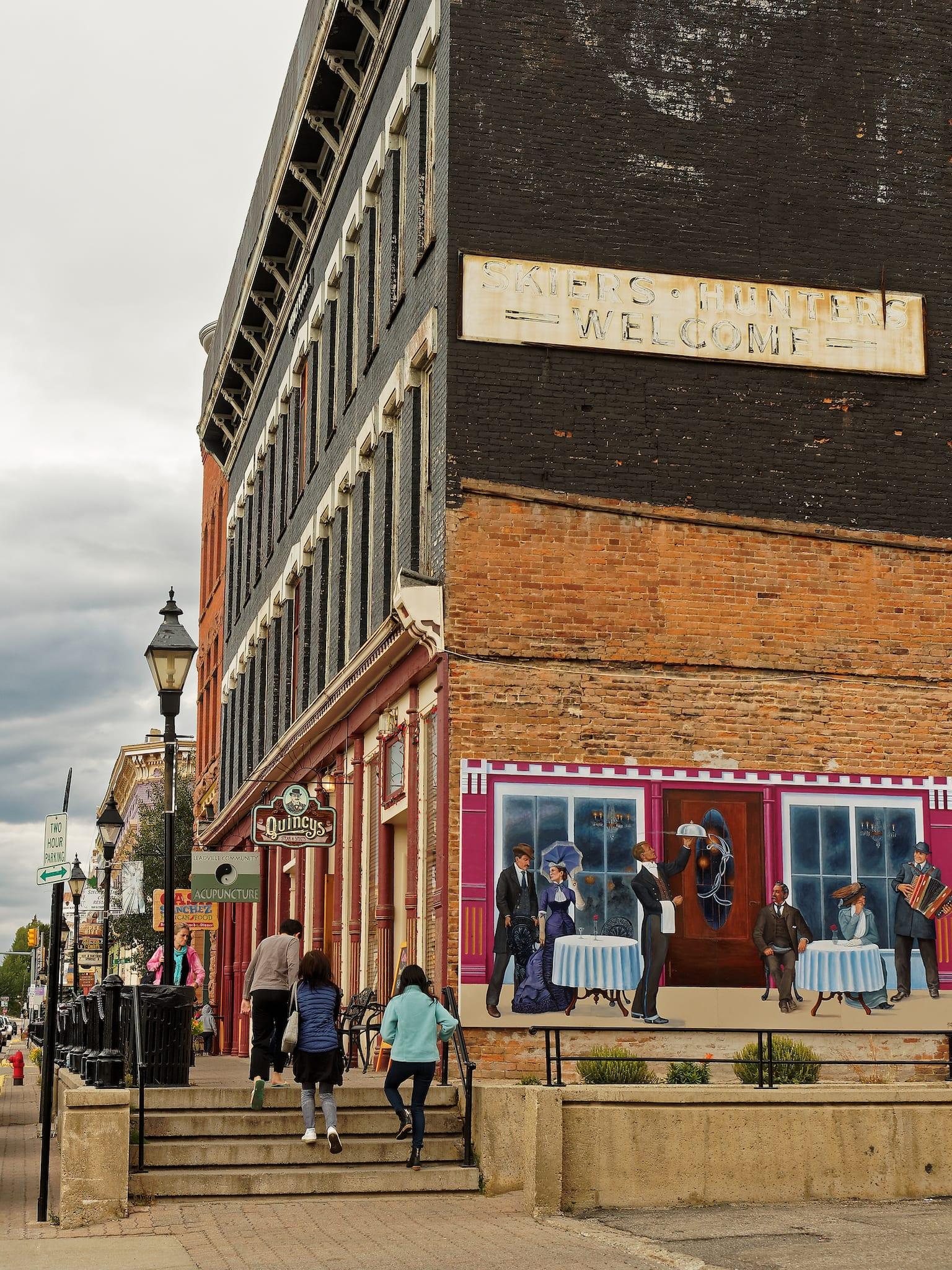 Downtown Leadville CO