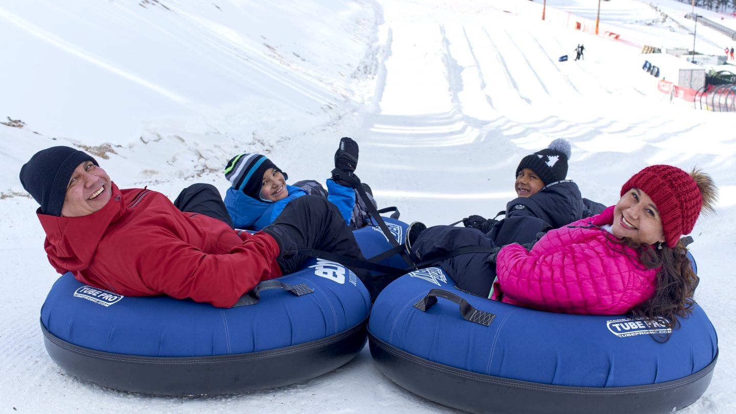 Echo Mountain Tubing Hill Idaho Springs CO