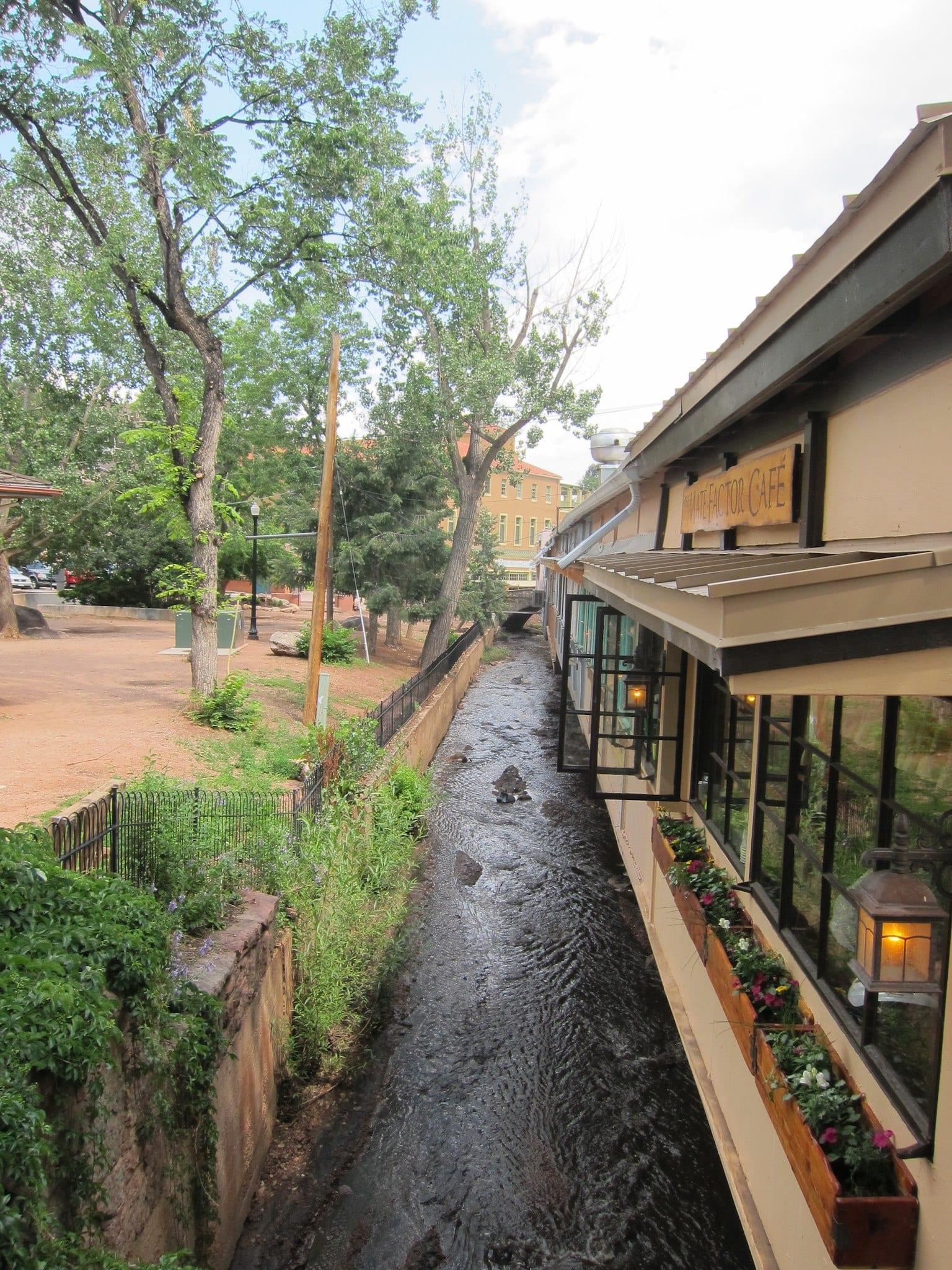Fountain Creek Manitou Springs Colorado