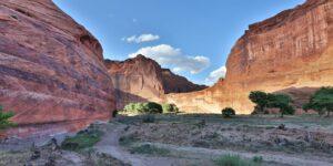 Four Corners Region Road Trip Canyon De Chelly Mountain Walls Arizona