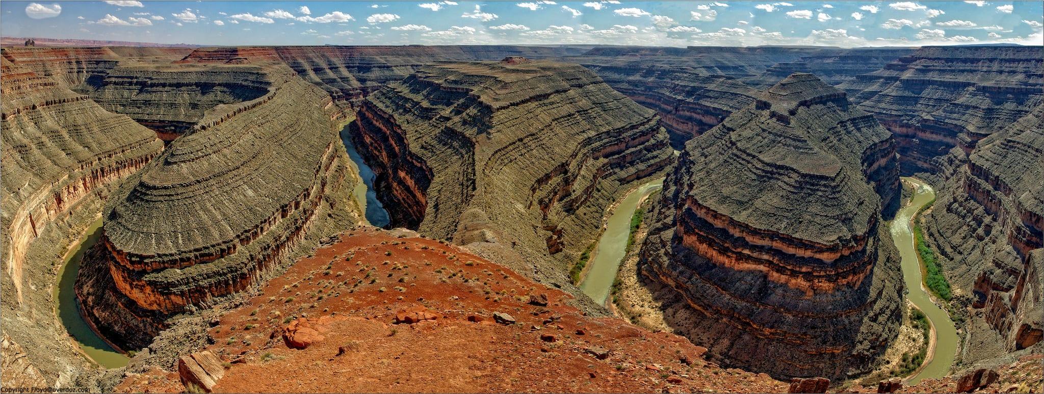 Goosenecks State Park San Juan River Overlook Utah