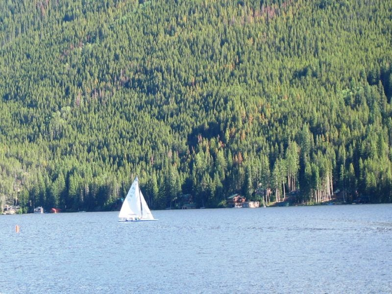 Grand Lake Colorado Sailboat