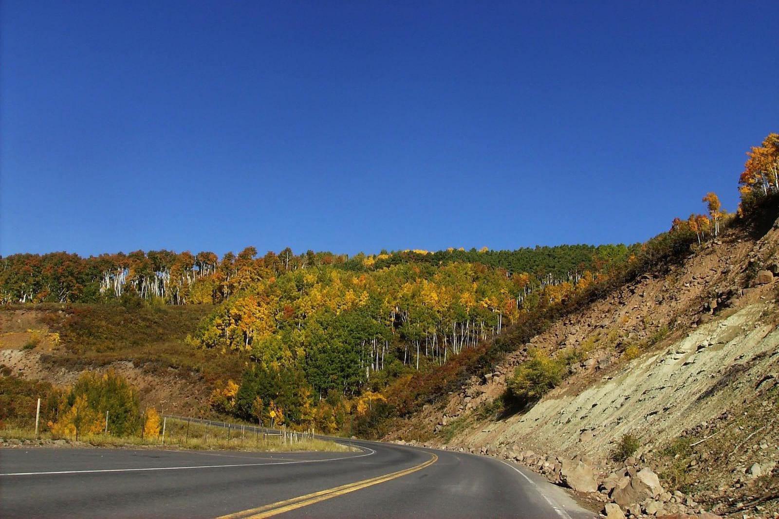 Grand Mesa Byway Autumn Colorado