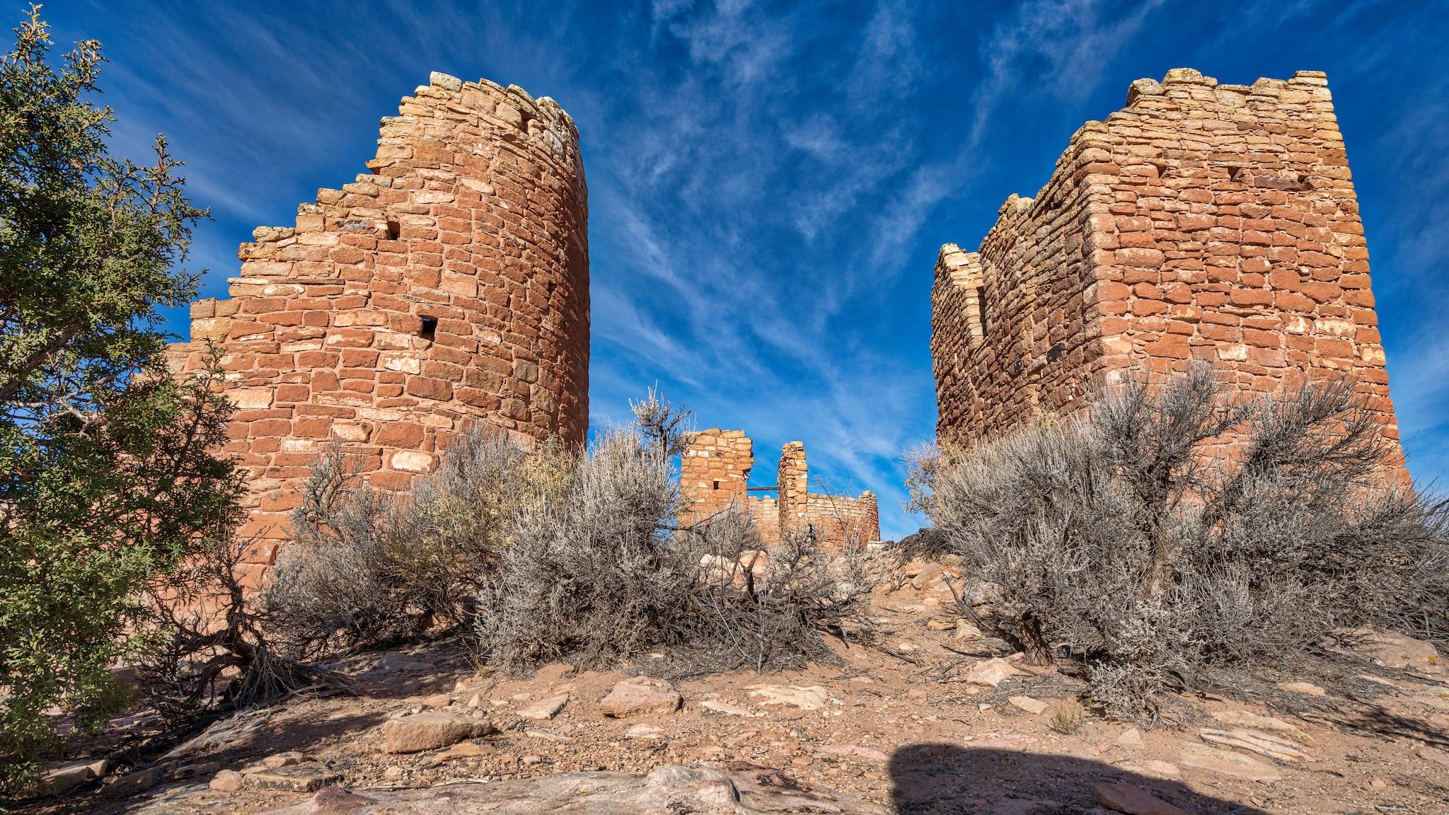 Hovenweep Castle Utah Ancestral Puebloans Ruins