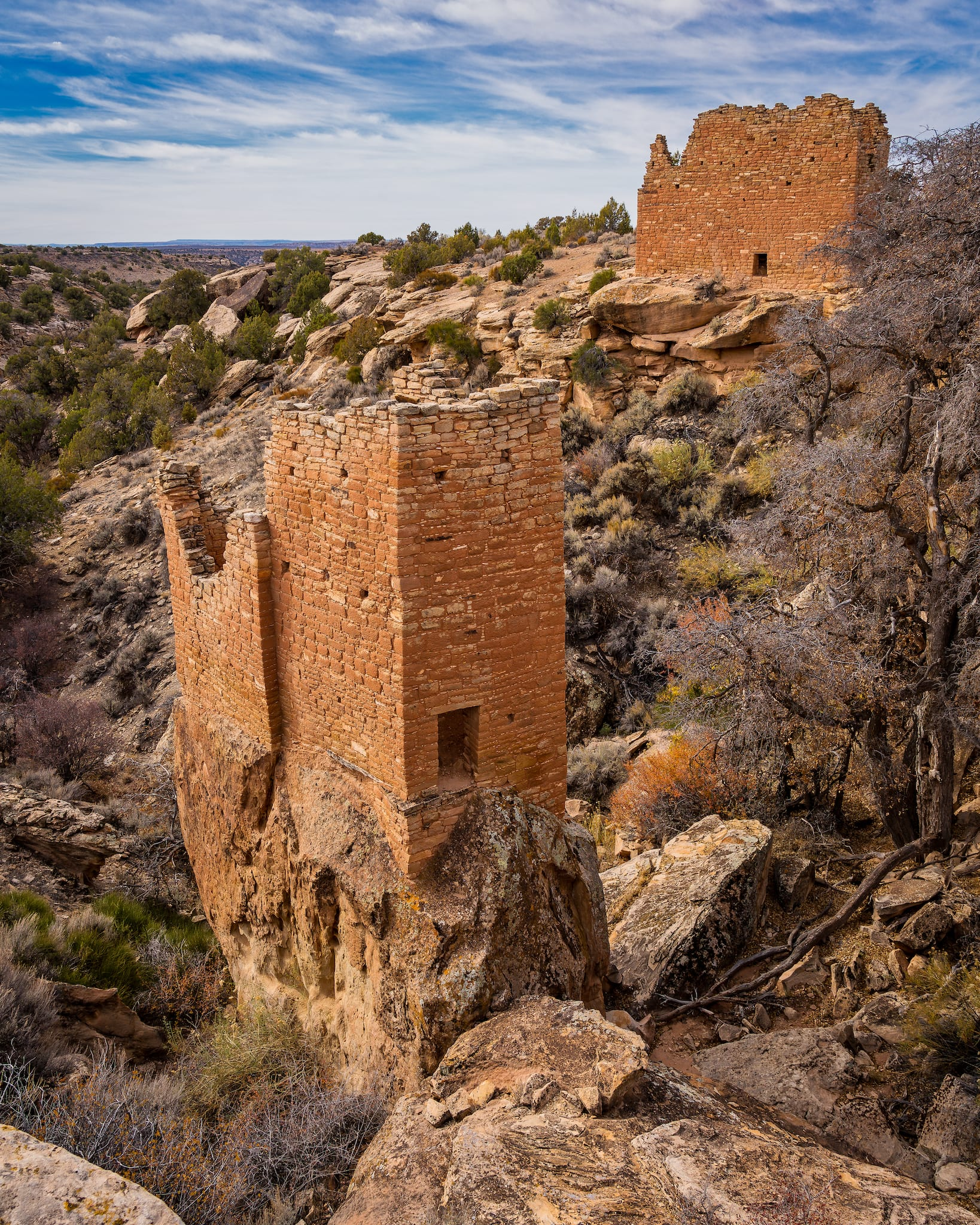 Hovenweep National Monument Holly Group Colorado