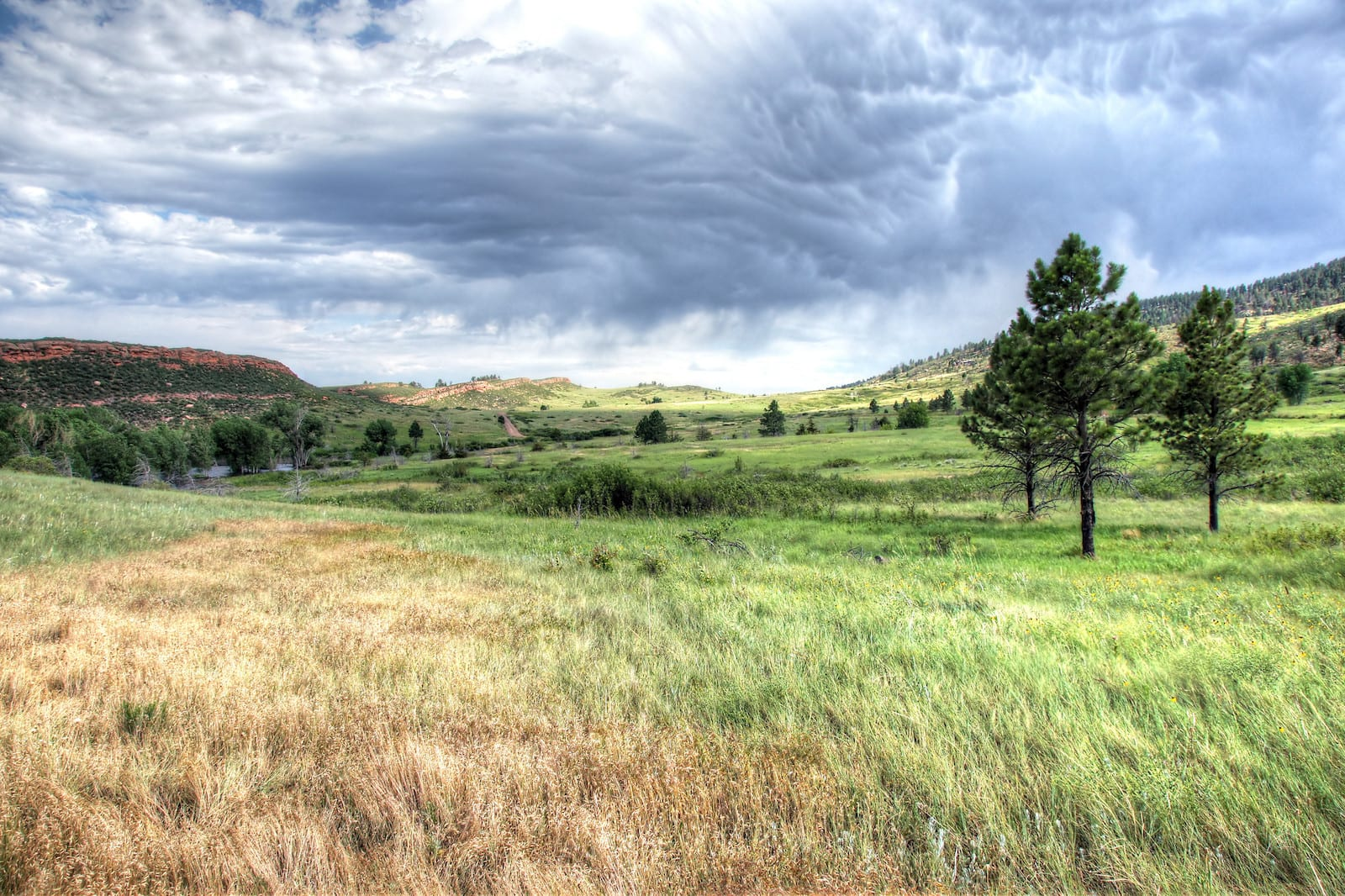 Lory State Park Colorado Cloudy Sky