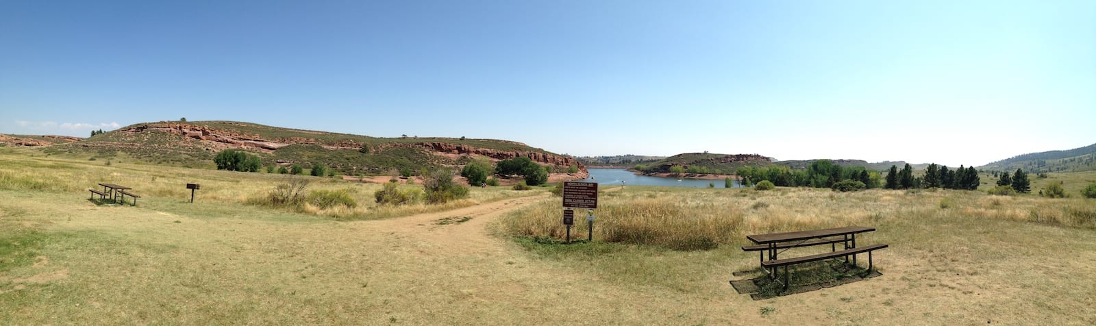 Lory State Park Picnic Areas