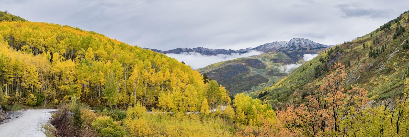 Marble Colorado Autumn Aspens Crystal River Valley