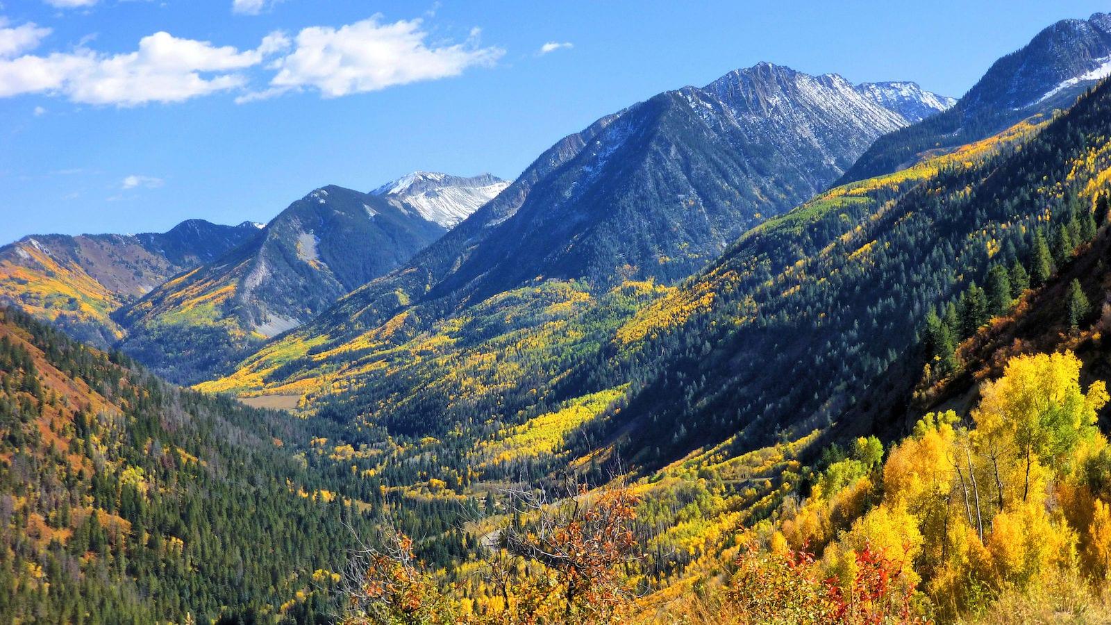 McClure Pass Autumn Colors CO