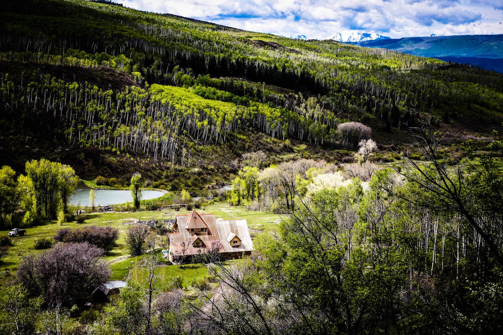 McClure Pass Colorado Sheep Farm