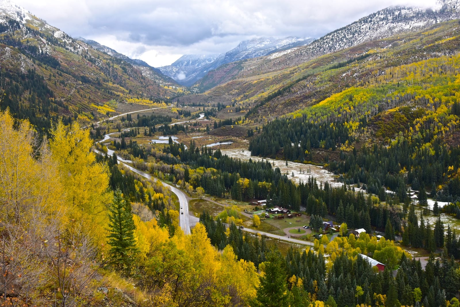 McClure Pass Colorado Valley State Highway 133 Autumn Colors