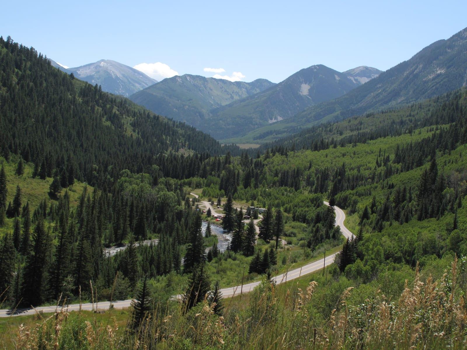 McClure Pass West Elk Loop Byway Colorado