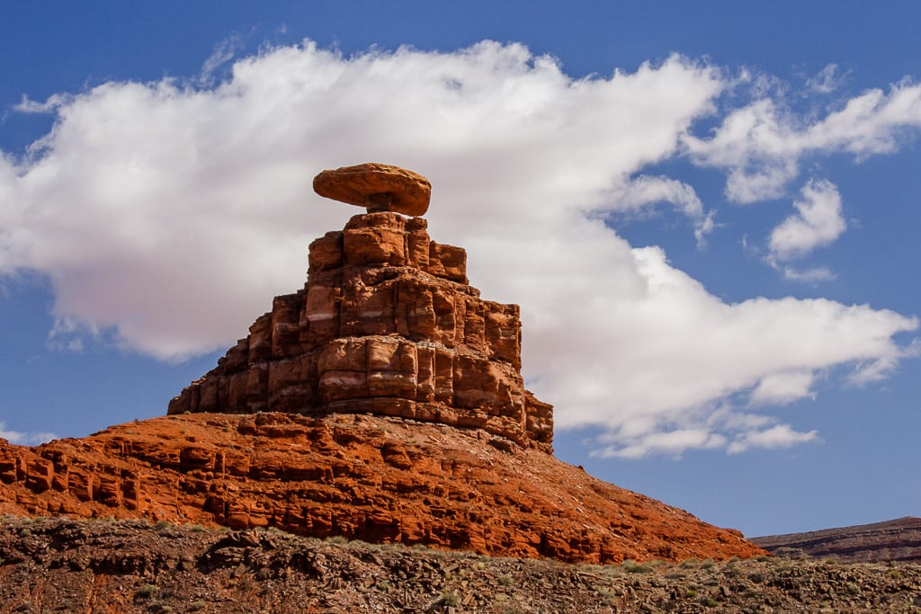 The Hat Landmark Mexican Hat Utah