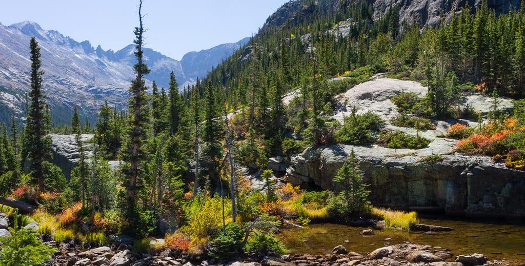 mills lake rocky mountain national park