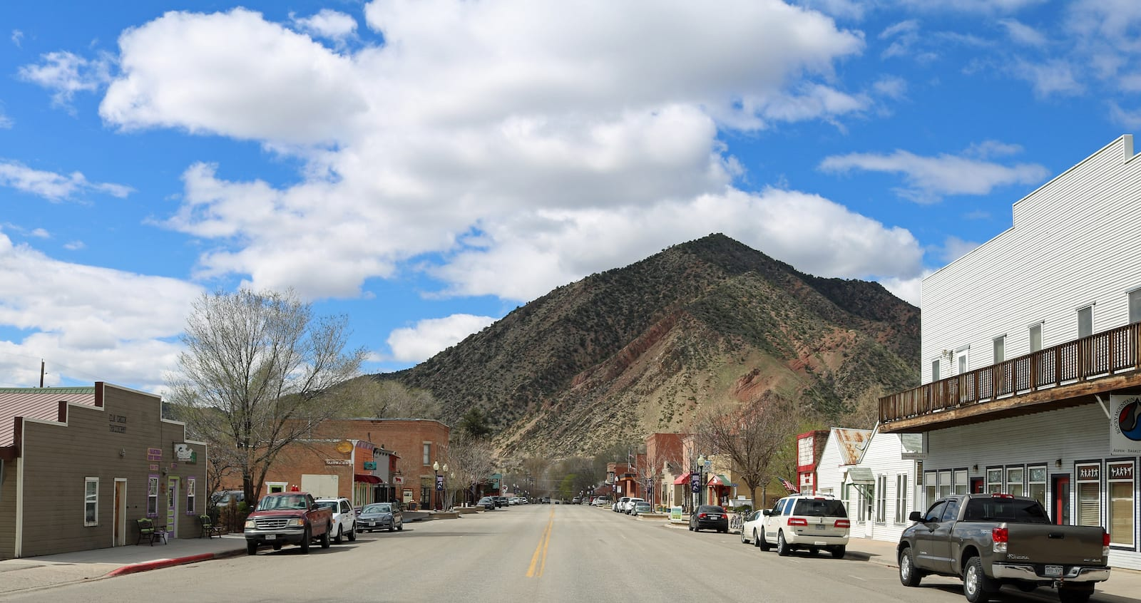 New Castle CO Main Street Grand Hogback Mountain