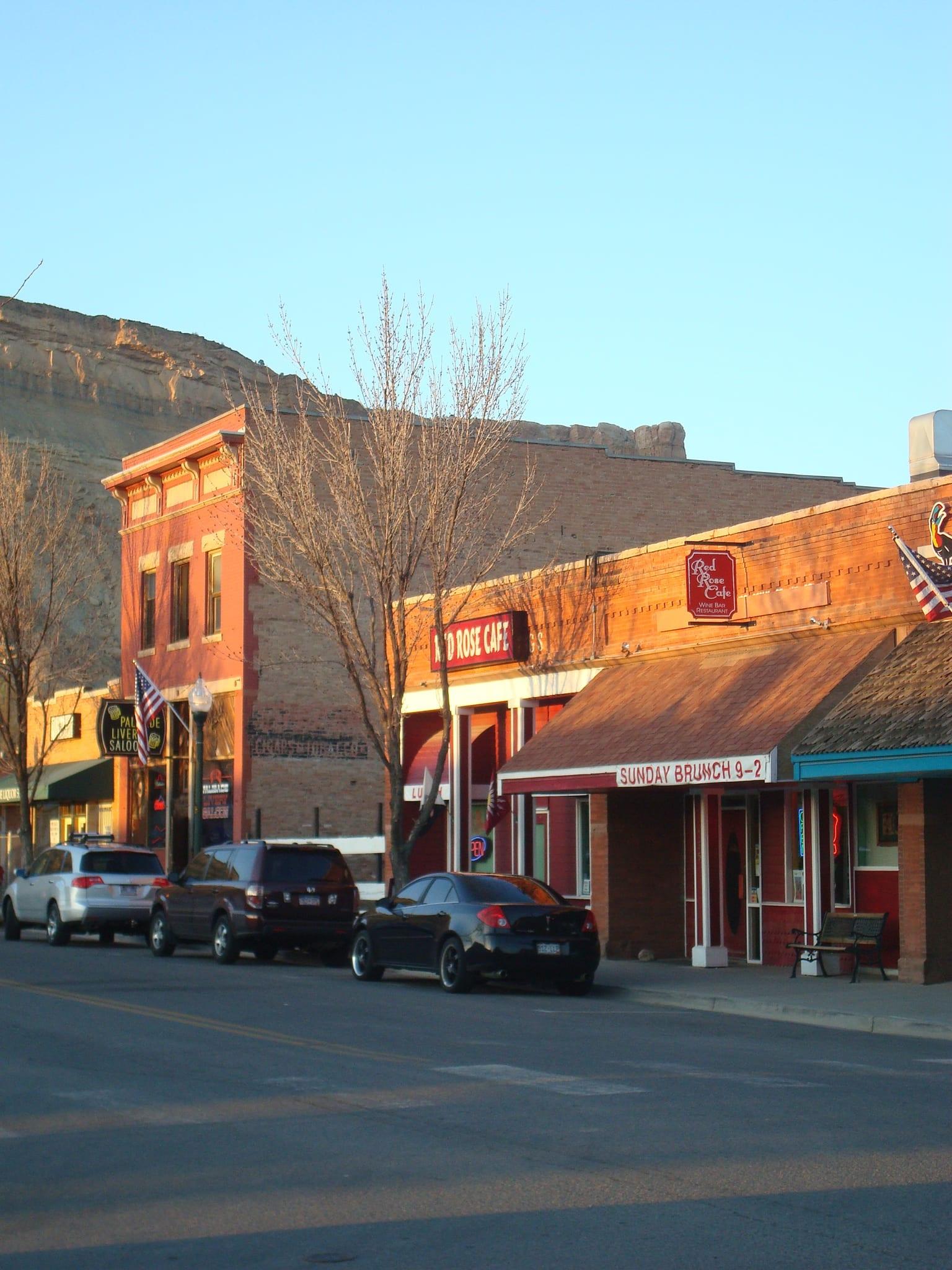 Downtown Palisade CO Main Street