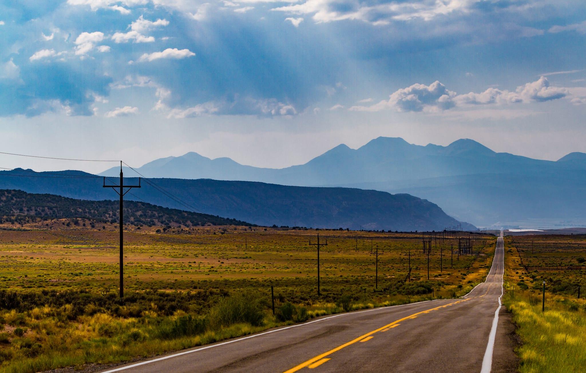 Paradox Valley Colorado Highway 90