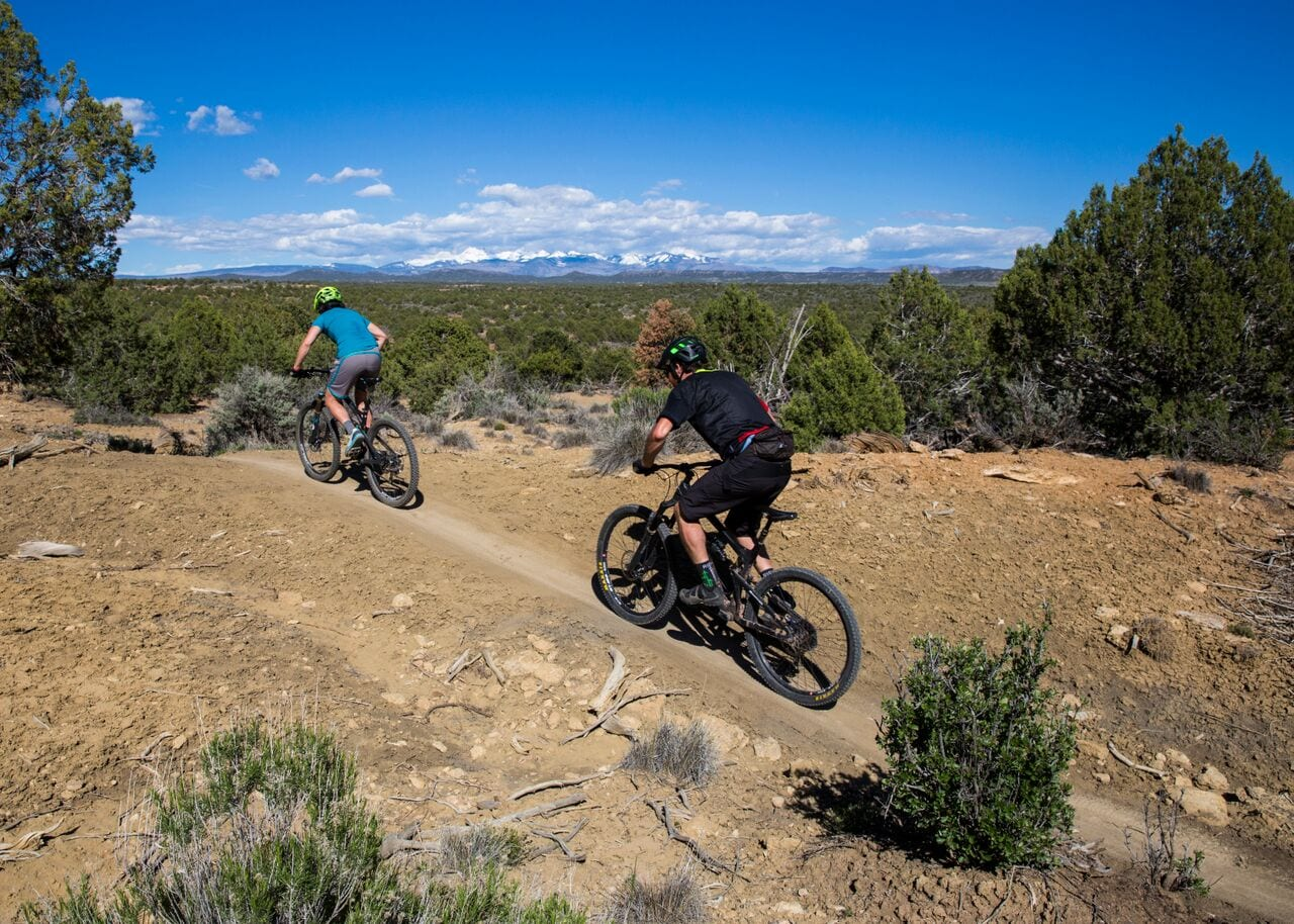 Phil's World Trail System Cortez CO Mountain Bikers