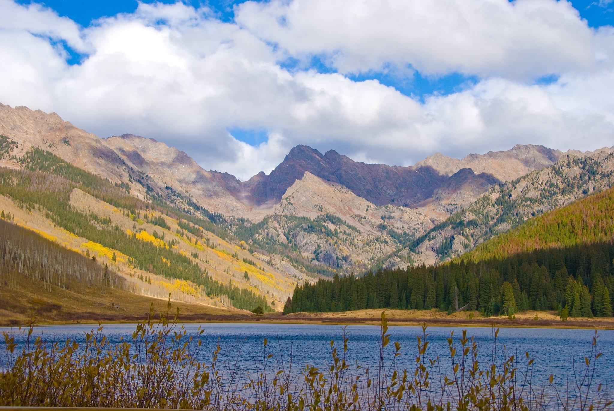 image of piney lake vail colorado