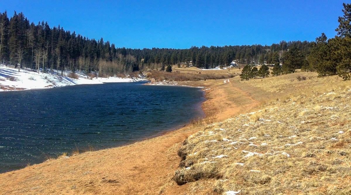 Rampart Reservoir West End Colorado