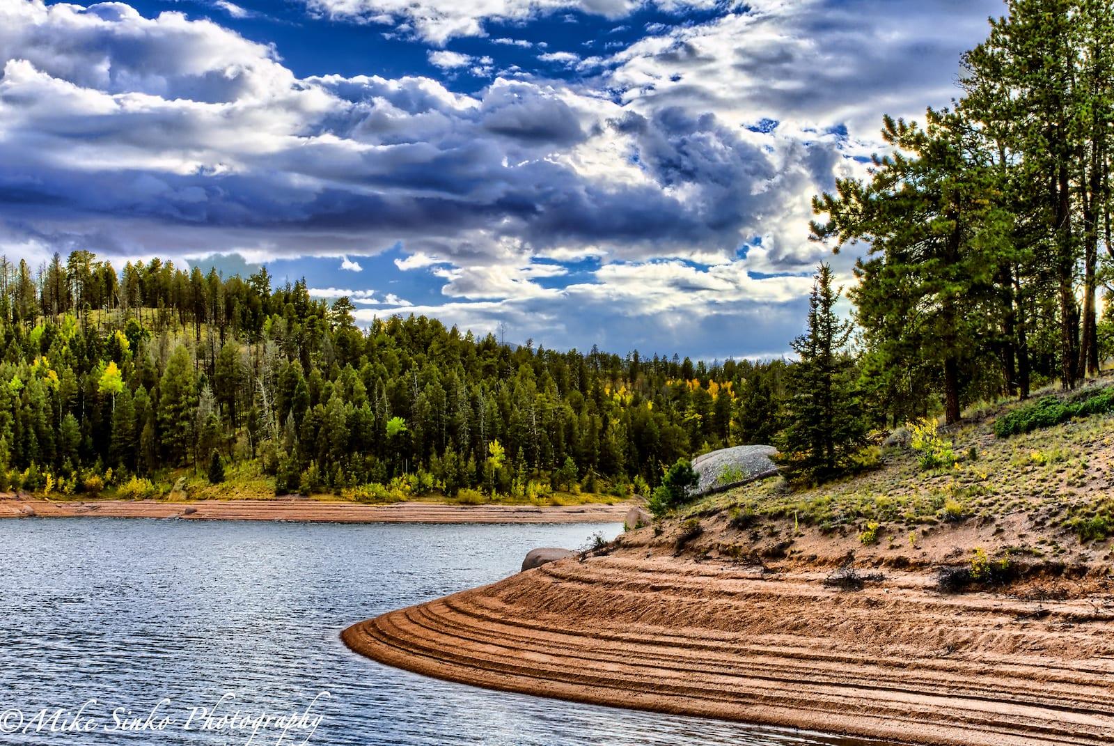 Rampart Reservoir Recreation Area Colorado