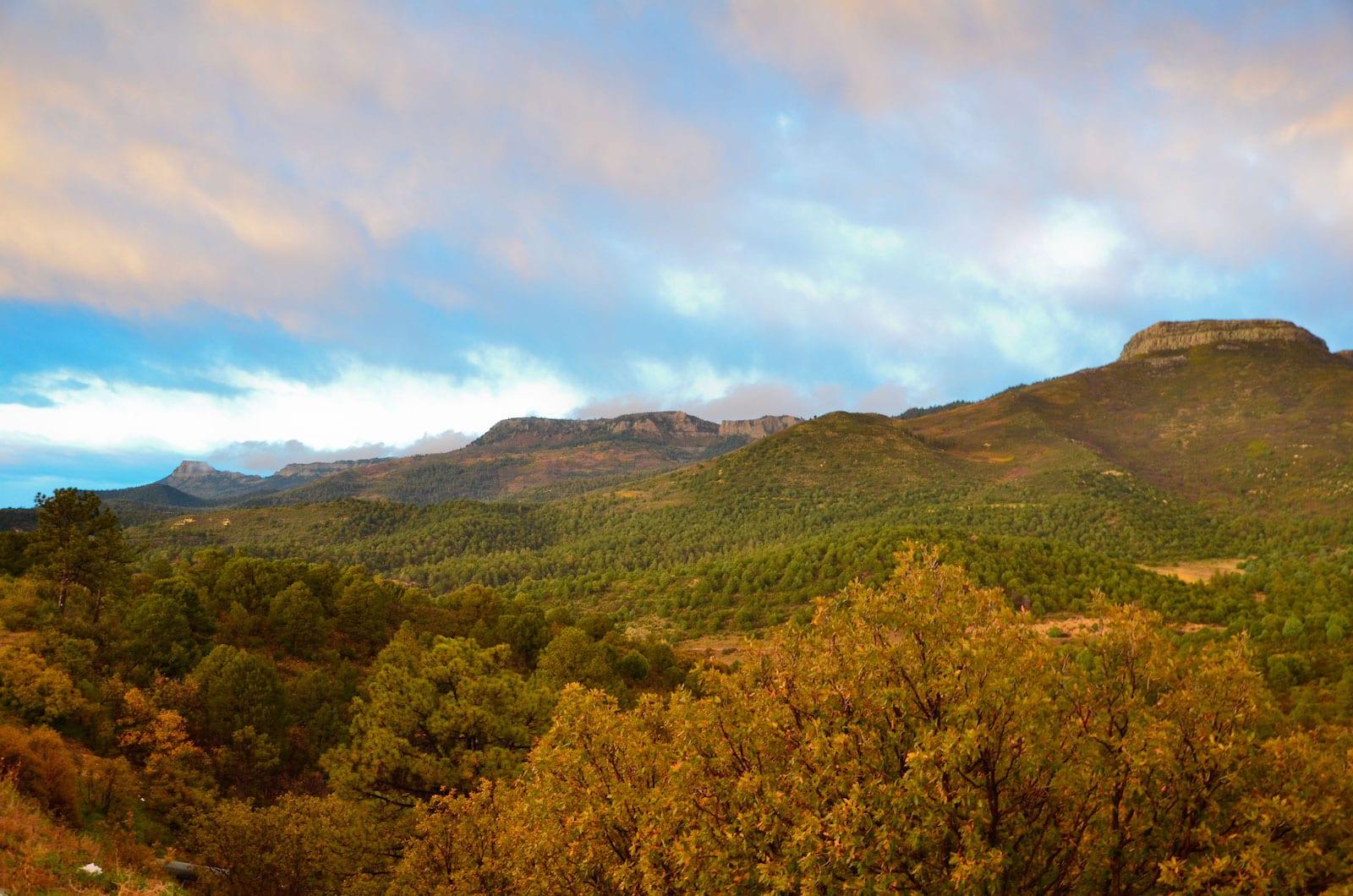 Raton Pass Colorado Autumn Scenery